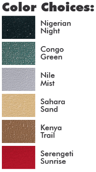 Rhino Hide Color Choices