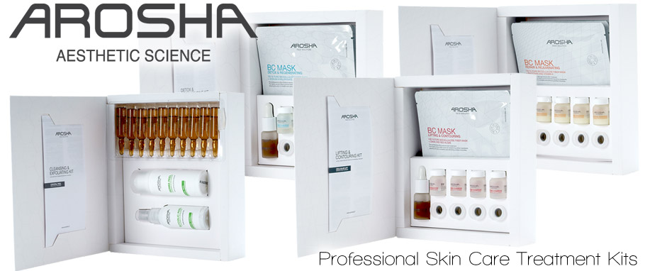 Arosha Professioal Skin Care Treatment Kits