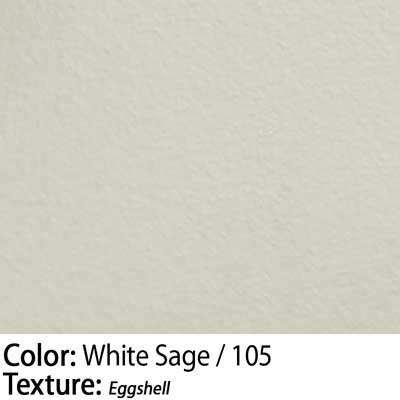 Color: White Sage / Texture: Eggshell