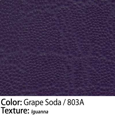 Color: Grape Soda / Texture: Iguanna