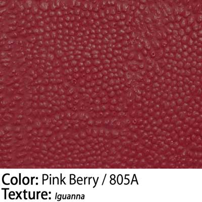 Color: Pink Berry / Texture: Iguanna