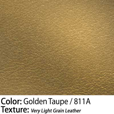 Color: Golden Taupe / Texture: Very Light Grain Leather