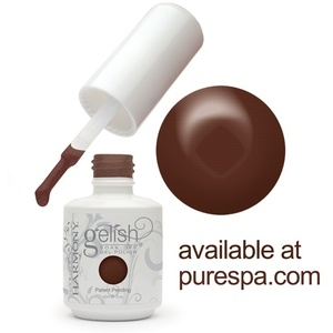 Sweet Chocolate Gelish Color Gel Nail Polish