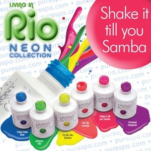 Shake it till You Samba Gelish Color Gel Nail Polish
