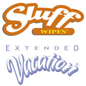 SLUFFWIPES Dual Textured Triple Action Pre-Tan Wipes