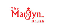 THE MARILYN BRUSH Tuxedo Round Brush 2 12""