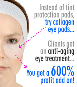 Add Collagen Eye Pads!