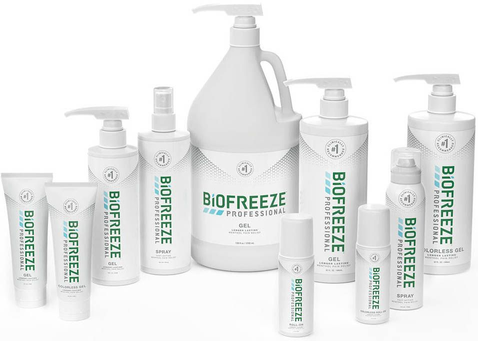 Biofreeze Professional Pain Relieving Products
