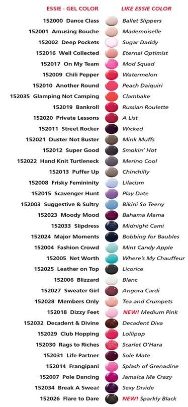 Essie gel color mega bundle led cured gel polish system