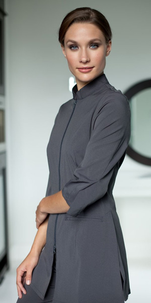 The urban fusion woman 39 s top na009 for Baju uniform spa