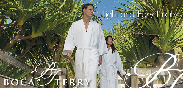 b17f846b6d Boca Terry - Luxurious Robes