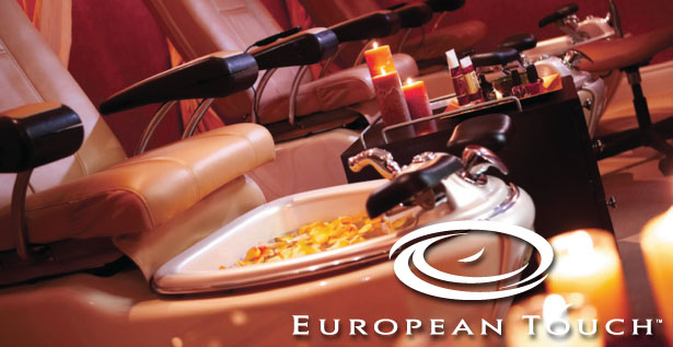 European Touch - the leading manufacturer of whirlpool pedicure spas.