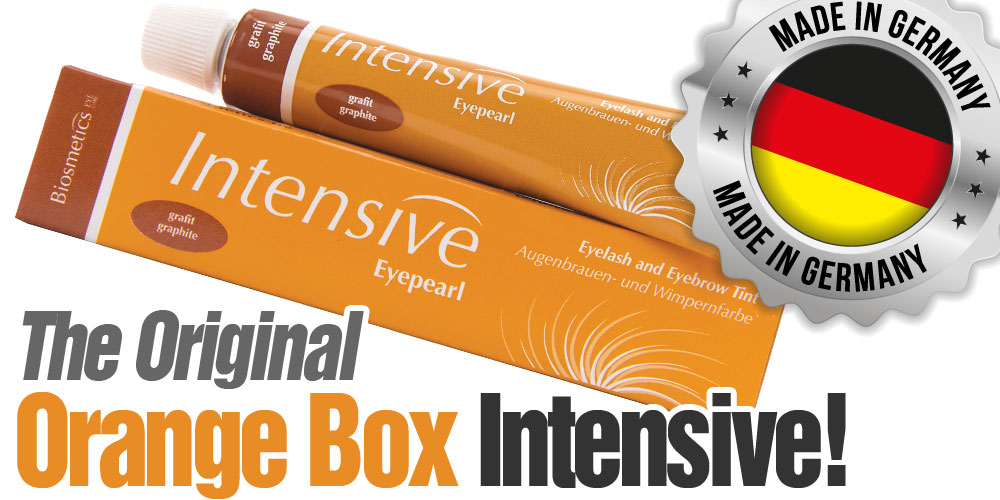 INTENSIVE - ORIGINAL ORANGE BOX - Lash & Brow Tint Cream Hair Dye