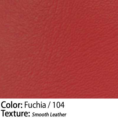 Color: Fuchia / Texture: Smooth Leather
