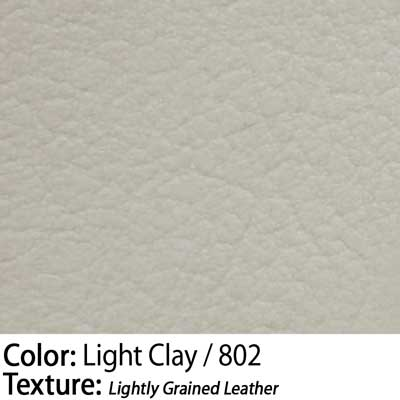 Color: Light Clay / Texture: Lightly Grained Leather