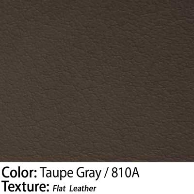 Color: Taupe Gray / Texture: Flat Leather