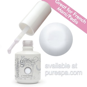 Sleek White Gelish Color Gel Nail Polish