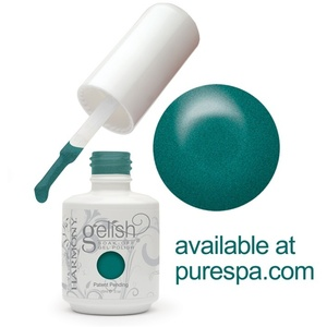 Mint Icing Gelish Color Gel Nail Polish