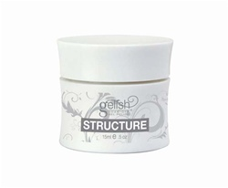 Gelish Strengthener for Weak Nails: STRUCTURE Clear Gel / 0.5oz. - 15mL. by Nail Harmony