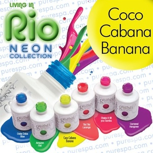 Coco Cabana Banana Gelish Color Gel Nail Polish
