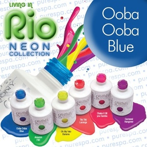 Ooba Ooba Blue Gelish Color Gel Nail Polish