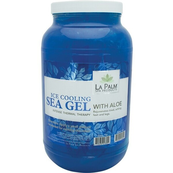 La Palm Products Ice Cooling Sea Gel 1 Gallon 140075