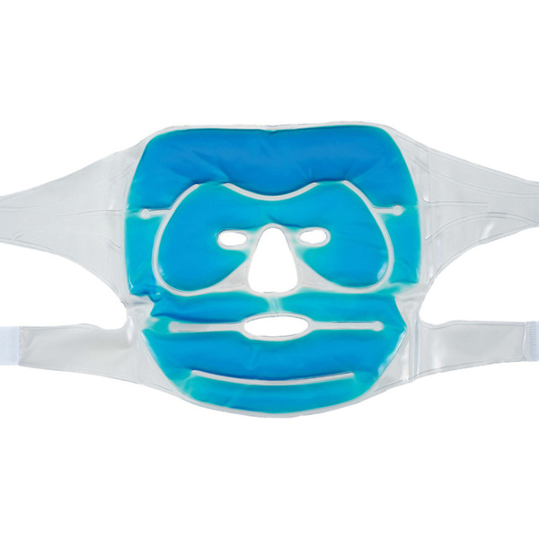 Warm Cool Full Face Gel Mask Blue 12 Pack 505311 X 12