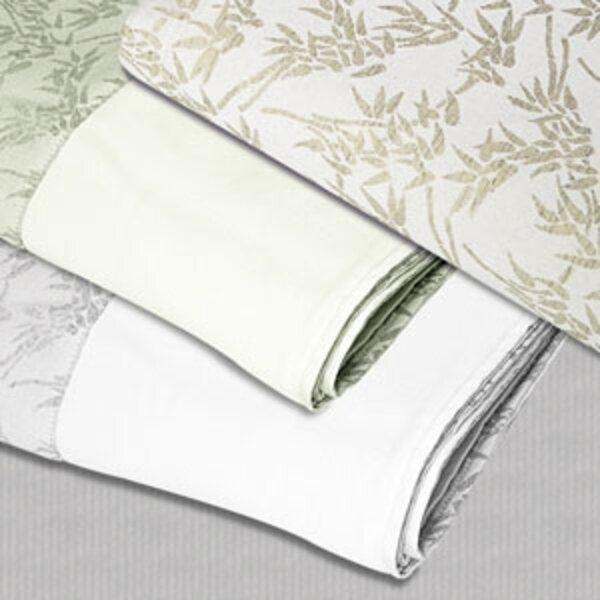 Microfiber Blanket Cream Bamboo Tea Green 58 Quot X 85 Quot By