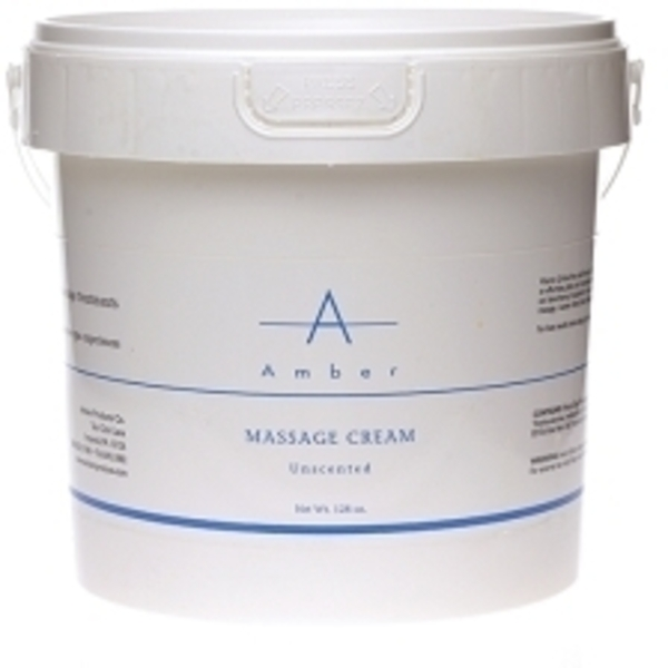 AMBER Unscented Massage Cream / 1 Gallon