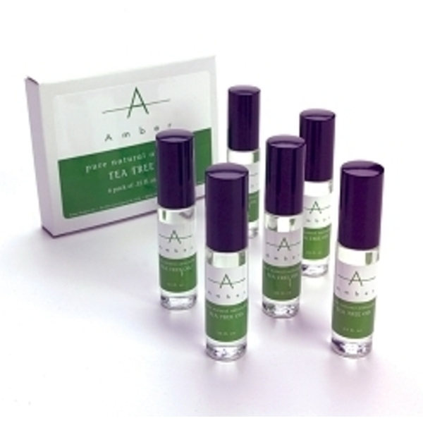 AMBER Tea Tree Oil - 6 Pack