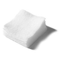 2 X Cotton Filled Gauze Pad