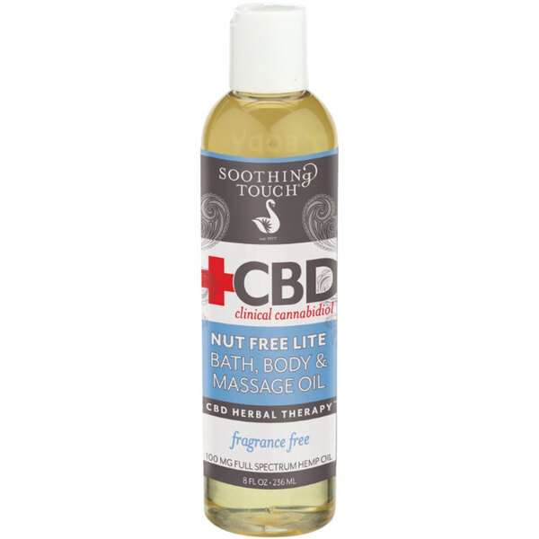 Soothing Touch Reg Cbd Clinical Cannabidiol Trade Nut Free Lite